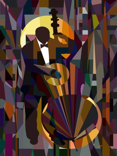 Bass Man, by Jay Mingo.   http://fineartamerica.com/featured/bass-man-james-mingo.html