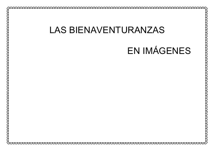 Las bienaventuranzas by Ana via slideshare