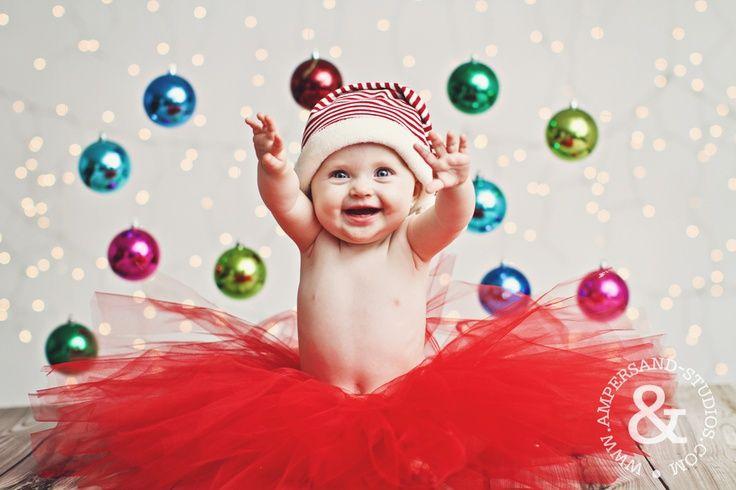 baby christmas photo ideas | Christmas Baby