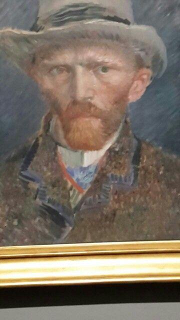 Van Gogh selfie 2015