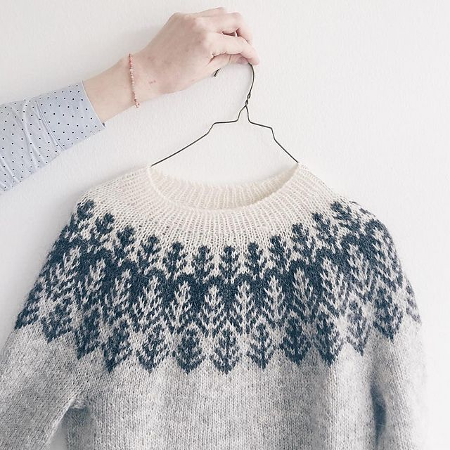 Ravelry: Project Gallery for Skógafjall pattern by Dianna Walla