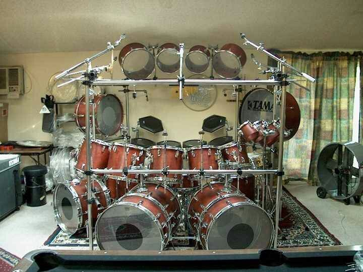 137 best awesome rigs images on pinterest drum kits drum sets and music instruments. Black Bedroom Furniture Sets. Home Design Ideas