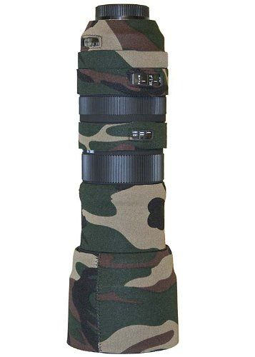 LensCoat LCS150500FG Sigma 150-500 OS Lens Cover (Forest Green Camo)
