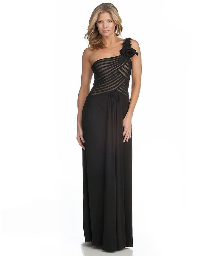 JS Collections One Shoulder Gown 83 best Rodeo