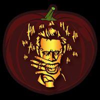 Joker Suicide Squad Pumpkin Stencil