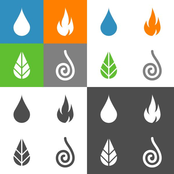 Element Icons on Behance