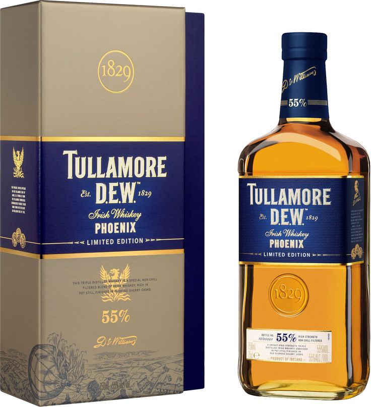 Only 2,500 cases of this limited edition whiskey, which earned the Gold Medal at the Irish Whiskey Masters Competition in 2013, will ever be made.