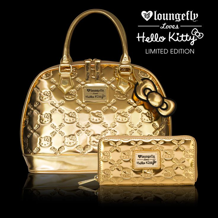 Exclusive, limited edition Loungefly x Hello Kitty bags, individually numbered for Hello Kitty Con.