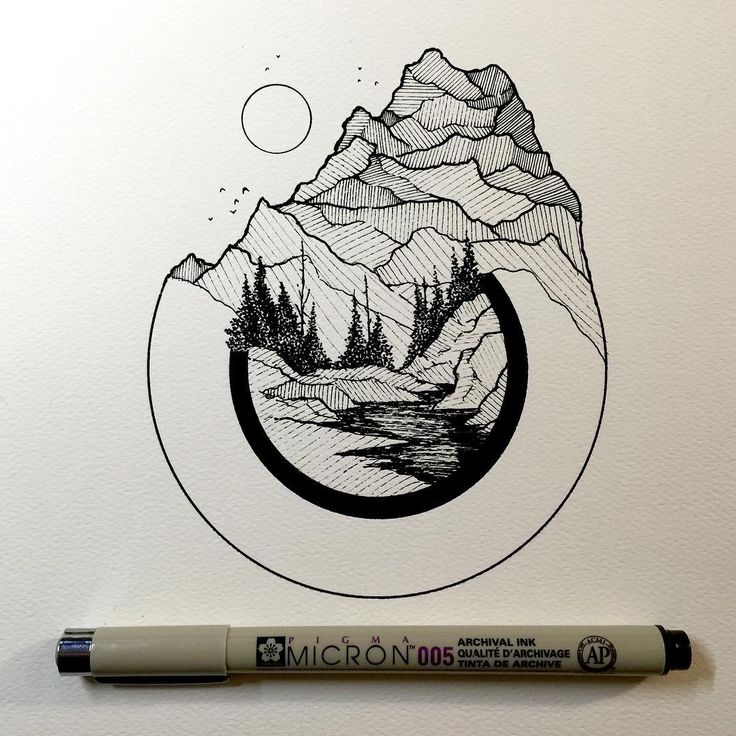 Best 25 colorado tattoo ideas on pinterest artistic for Cool easy pen drawings