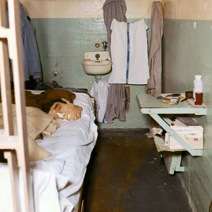 A dummy head used by John Anglin to fool prison guards while he and two other inmates escaped Alcatraz in 1962