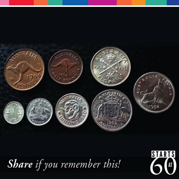 14/2/16  Sunday marks 50 years of Australia's switch from pounds, shillings and pence to dollars and cents! It's known as Conversion Day.