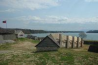 ラウドン砦の再現物、州内で最初のイギリス人による開拓地- テネシー州 - Wikipedia