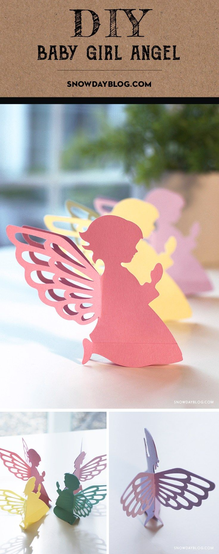 DIY Easter Craft: Baby Angels