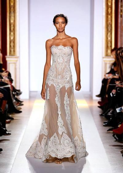 vestido transparente lindo