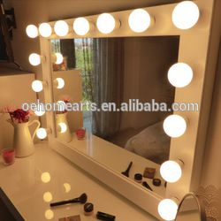 Kaptafel met spiegel verlicht make-up spiegel-inMake-up spiegel van Make-up tools op m.dutch.alibaba.com.