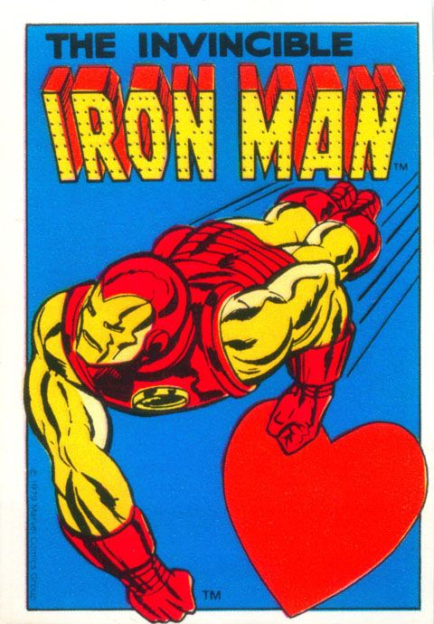 Marvel Superheroes Valentineu0027s Day Cards Made By Hallmark In Iron Man