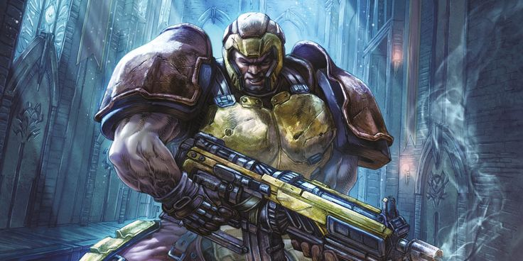 Brand-new comics based on the best-selling franchise, leading into the upcoming new game! Titan Comics' Quake: Champions #1 by Ram V. & Alan Quah.