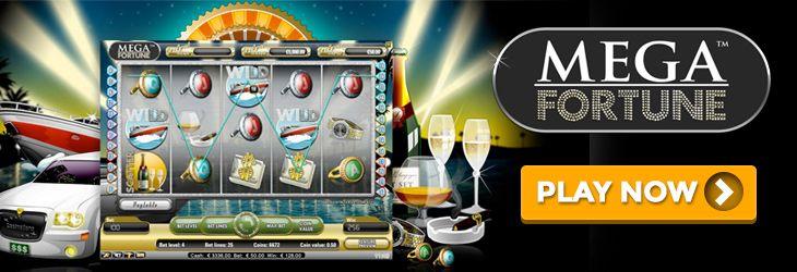 mega fortune progressive  jackpot slot