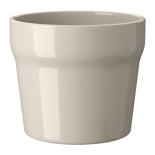 IKEA - ORÄDD, Plant pot, Glazed interior; makes the plant pot waterproof.