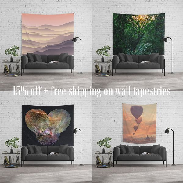 TODAY -Discount on wall tapestries!