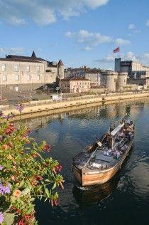 Cognac, France. La Charente