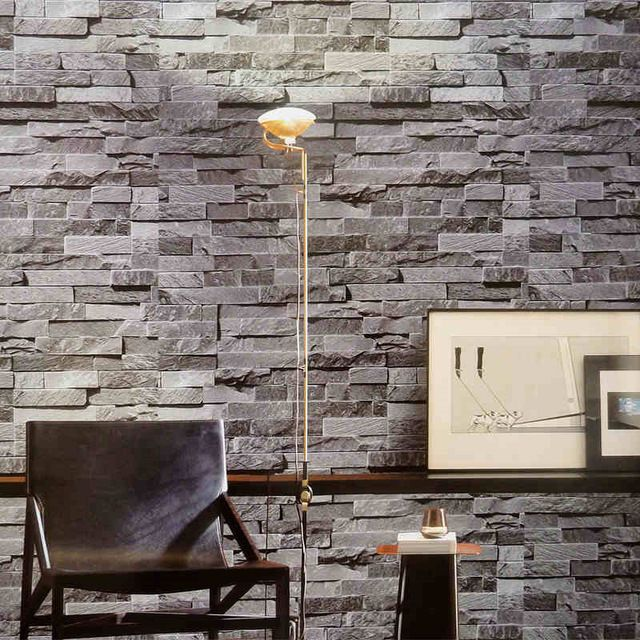 Modern 3d Wallpaper Gray Brick Wall Vinyl Kitchen Wall Paper Red Brick Wall Paper Yellow Stone Wall Mural For T Brick Wallpaper Stone Wallpaper Red Brick Walls