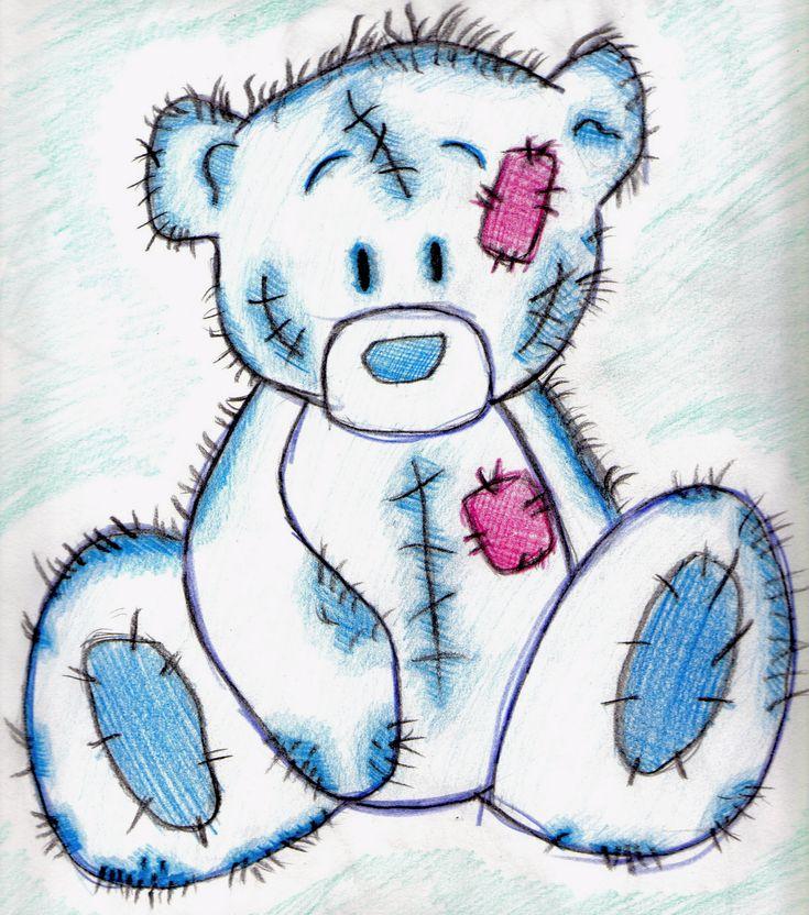 Cute Teddy Bear To Draw - ClipArt Best