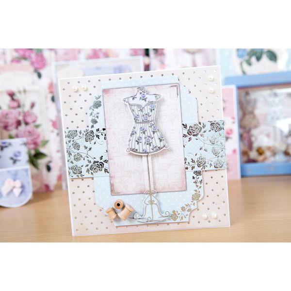 Kanban Shabby and Chic Paper Craft Collection - 64 Sheets (144196) | Create and Craft