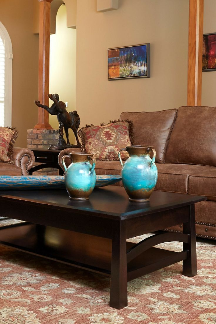 Etonnant Take Home The Montague Living Room Collection From Gallery Furniture TODAY!  This Made In America Group Will Add Western Charm To Your Su2026