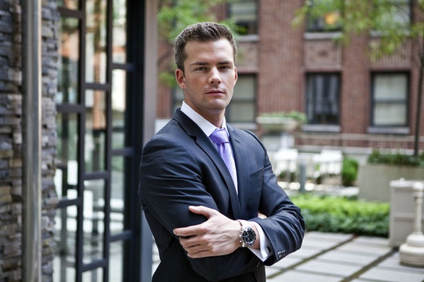 Ryan Serhant from Million Dollar Listing New York...love this show