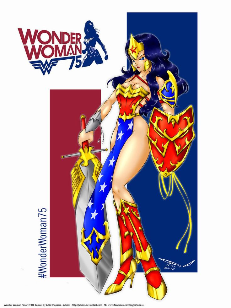 Wonder Woman Fanart by juboss by juboss.deviantart.com on @DeviantArt