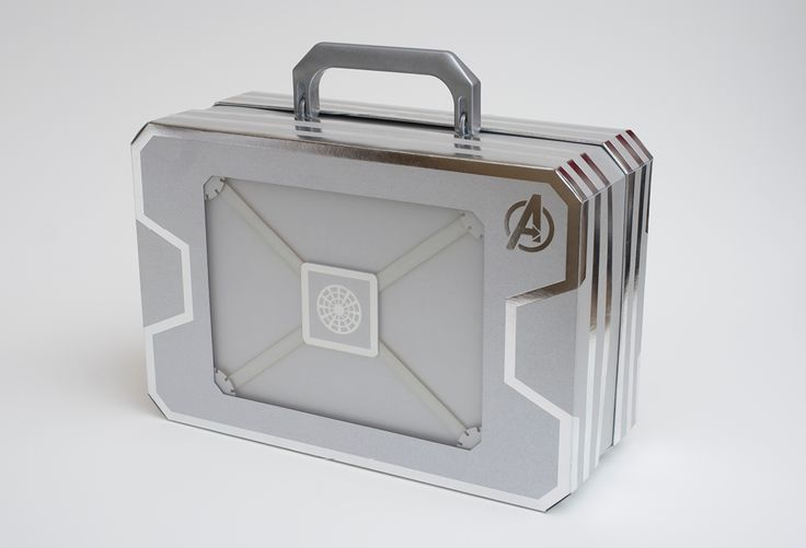 Avengers concept package design.