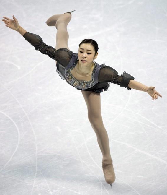 Kim Yu-Na, figure skating
