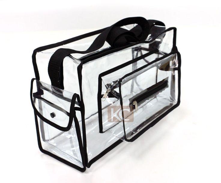 Many size Hot Sale clear PVC makeup transparent cosmetic bag, transparent pvc…