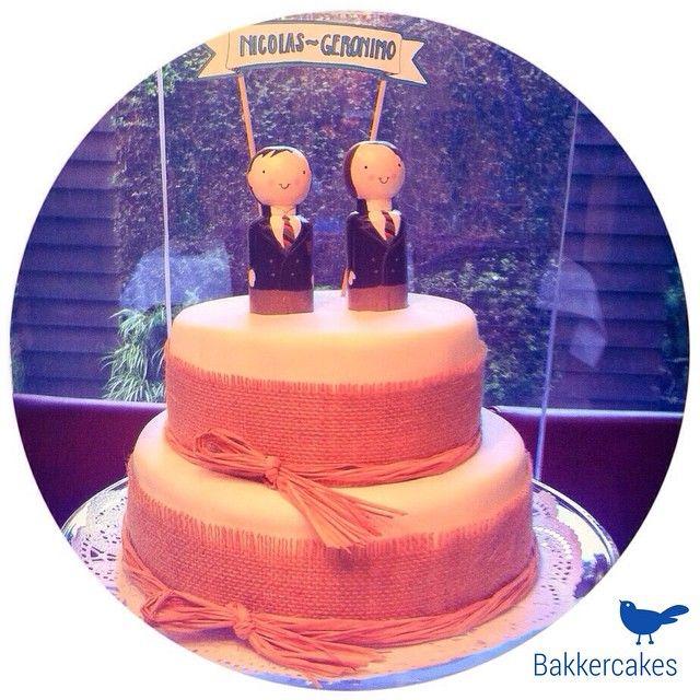 Cake for Nicolas & Geronimo