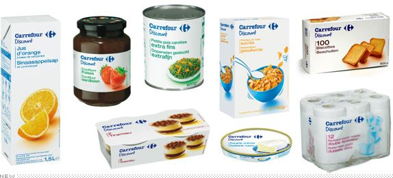 Carrefour Discount Packaging, New