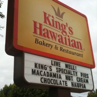 Kings Hawaiian bakery & restaurant