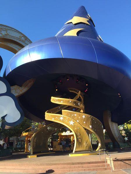 Chapéu de Mágico Mickey - Disney Hollywood Studios Orlando #timbeta #betaquerlab