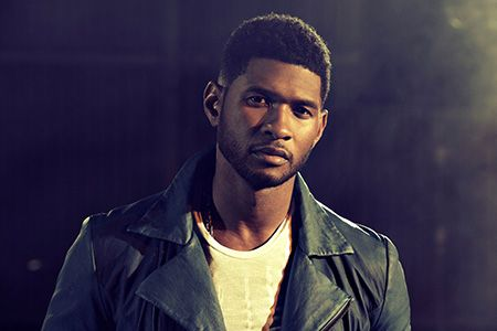 Usher is @RODEOHOUSTON tonight... Happy Friday!