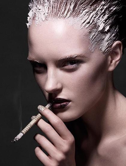 Beauty Junkie I E Caby Mac Eye Shadow: 50 Best John Galliano F/W 2009 Images On Pinterest