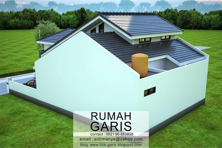 Desain Rumah Takalar | Rumah Garis dipercayakan oleh Ibu Niar yang merupakan teman SMA, untuk mengerjakan proyek desain rumah ...