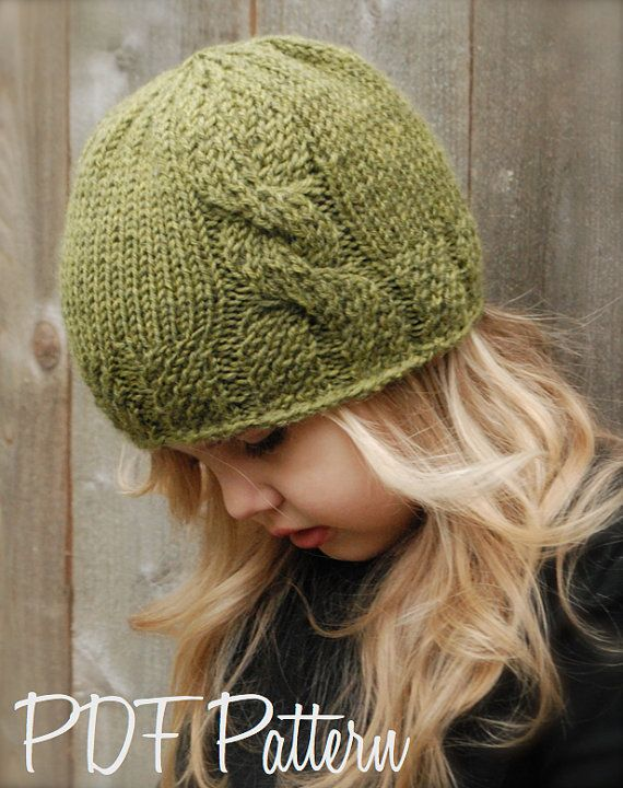This is a listing for The PATTERN ONLY for The Cadryen Cloche This hat is handcrafted and designed with comfort and warmth in mind... Perfect for