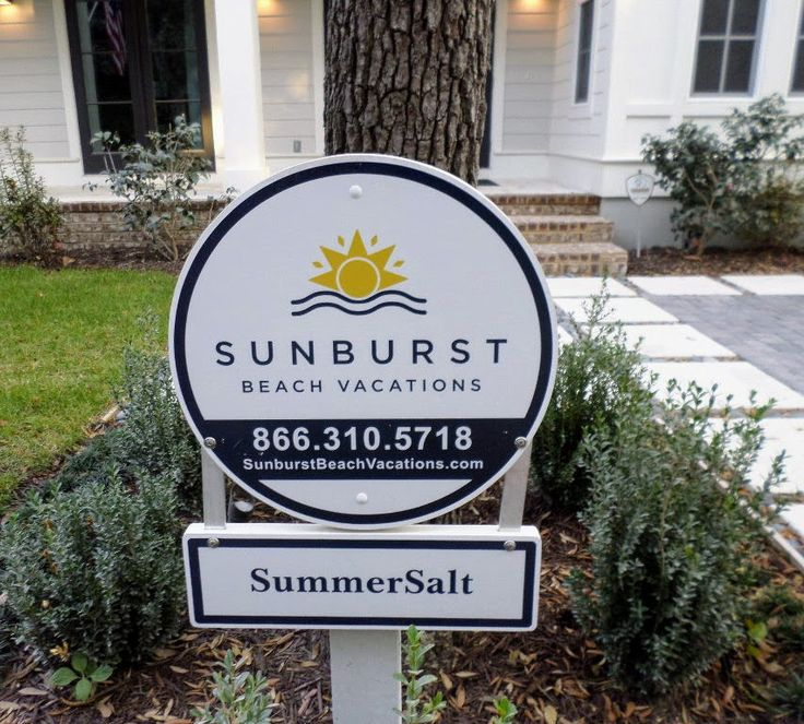 Looking for a beach house rental in Florida?  In the Seaside or Seagrove area?  You'll love the houses that are available through Sunburst.