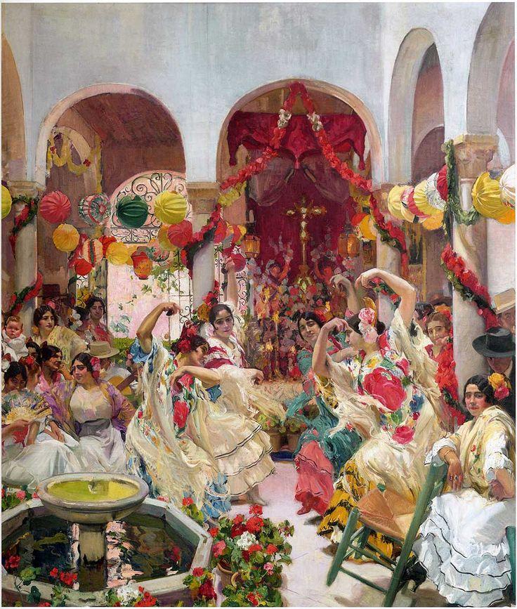 Seville, the Dance - Joaquín Sorolla - WikiArt.org