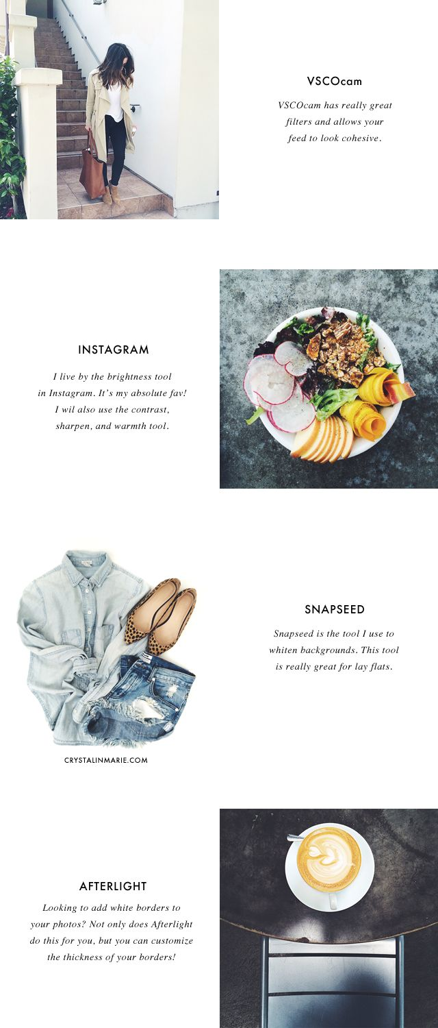 Go-To Instagram Photo Editing Apps