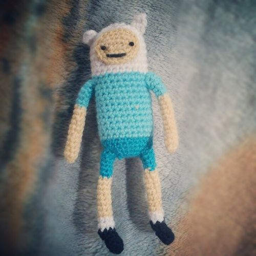 Adventure Time Jake Amigurumi Pattern : Finn the human pattern. Adventure Time. My son has been ...
