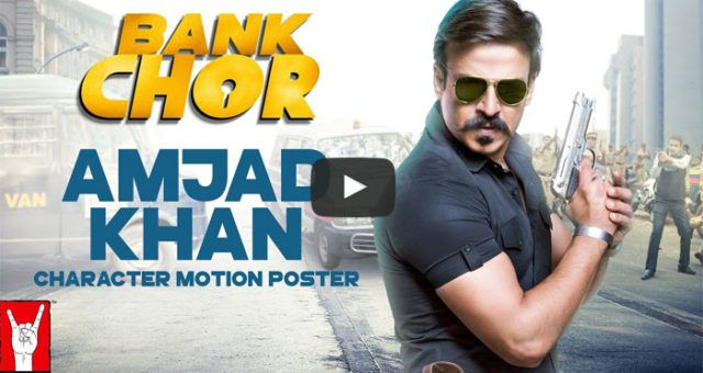 Introducing to you, Khan, Amjad Khan aka Vivek Anand Oberoi from the movie #BankChor  Y Films, Yash Raj Films - YRF