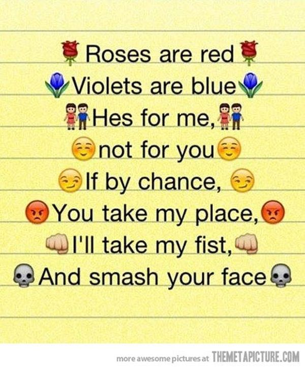 Dirty Roses Blue Red Are Jokes Are Violets