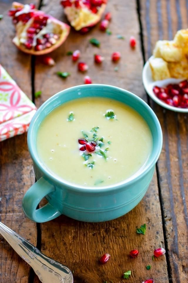 Nothing says comfort in cold winter than a bowl of hot and creamy potato leek soup with some old rustic bread croutons to dunk in! Isn't it? This creamy potato soup gets depth of flavor from leek a...