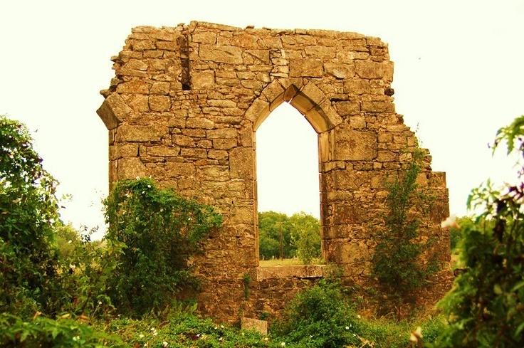St. Dominic Catholic Church ruins D'Hanis, TX